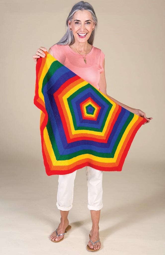 Rainbow Blanket by Adrienne Larsen