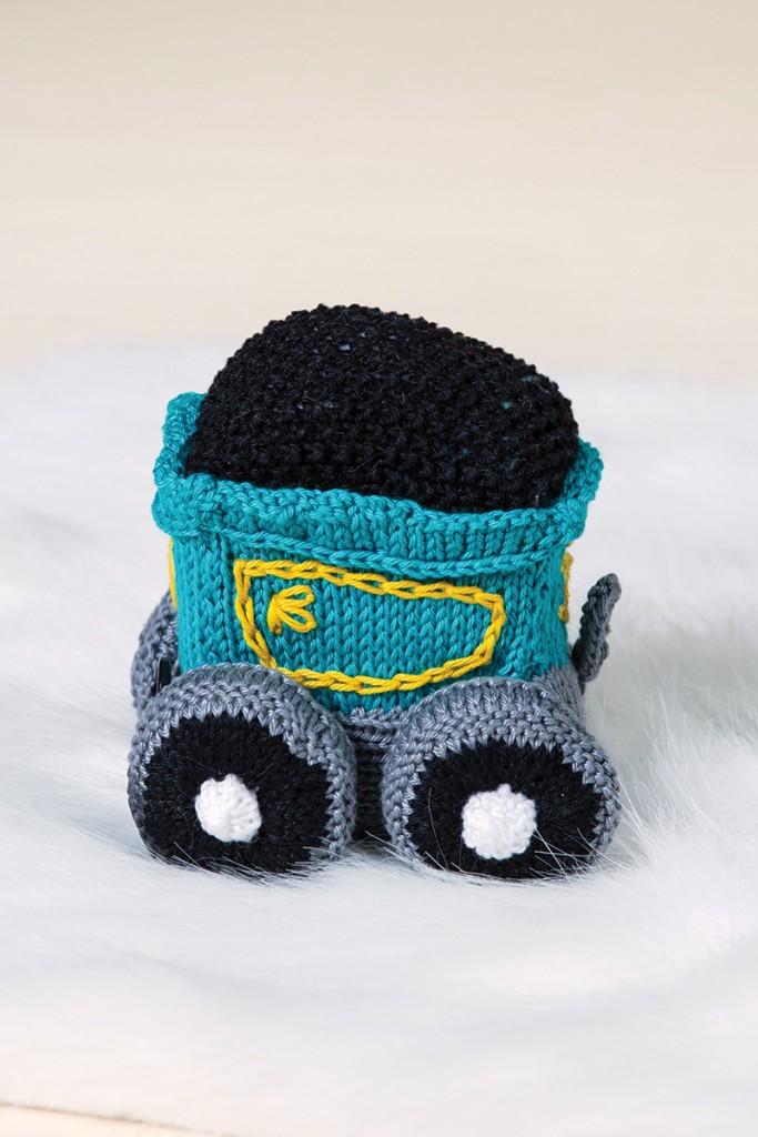 Circus Train Coal Car by Megan Kreiner