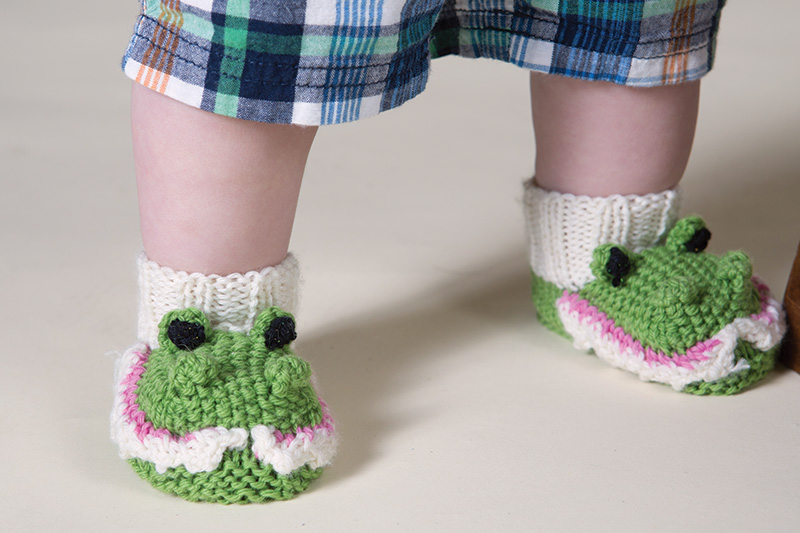 Crocogator Booties by Molly Conroy