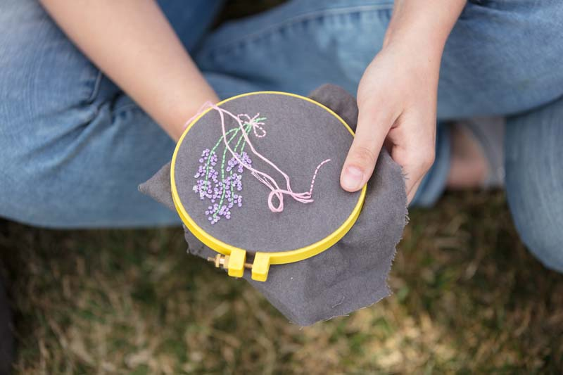 Nature-Inspired Stitchwork