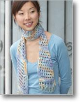 La Mer Scarf by Sheryl Means | CrochetMe.com