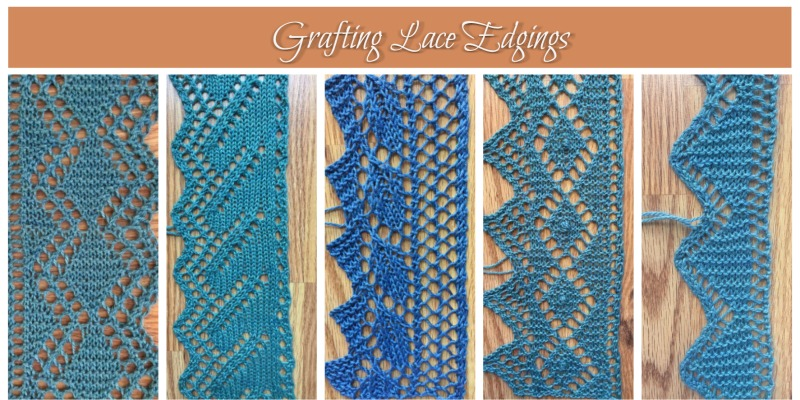An Education in Grafting Lace Edgings: Edging Pattern 6