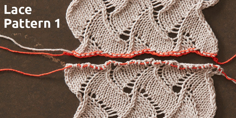 An Education in Lace Grafting: Lace Pattern 1