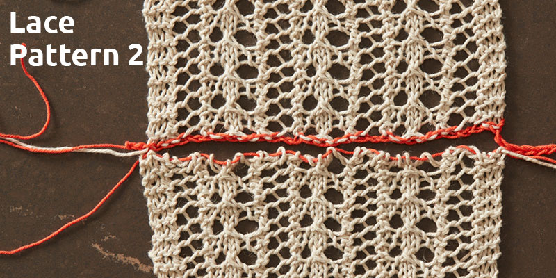 An Education in Lace Grafting: Lace Pattern 2
