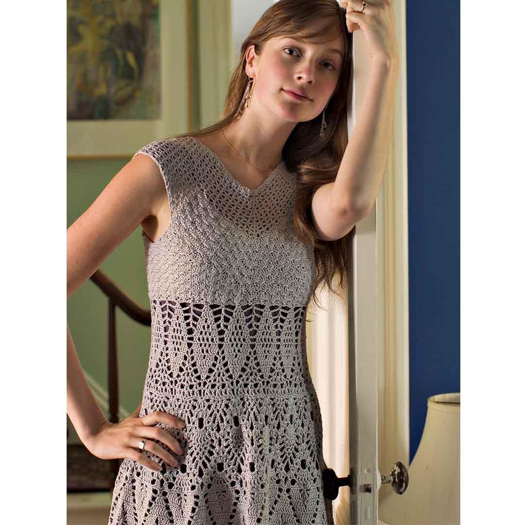 Lace Dress Interweave Crochet Spring 2004 CREDIT: Chris Hartlove