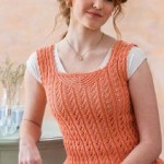 A Lacy Camisole to Knit Vicki Square