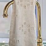 Lady Tea Towel to Knit