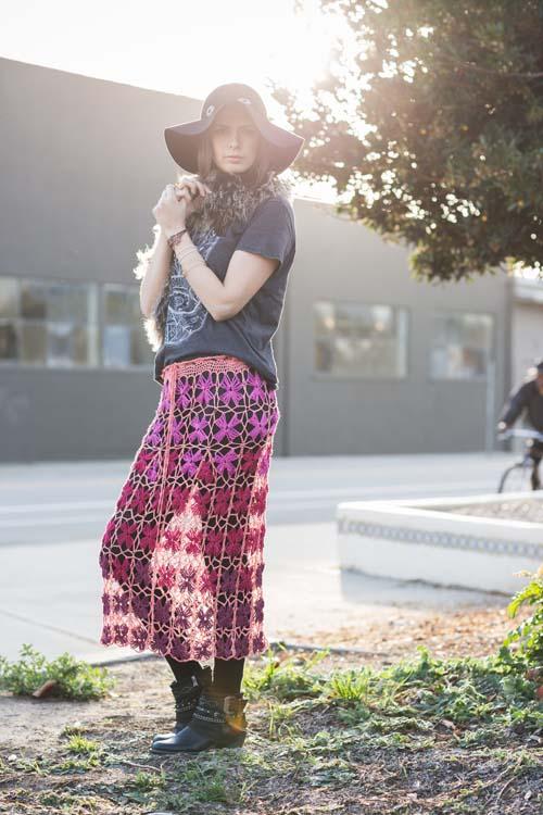 Lantana Skirt Side