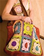 Free crochet shopping bag pattern by Cecily Keim | CrochetMe.com