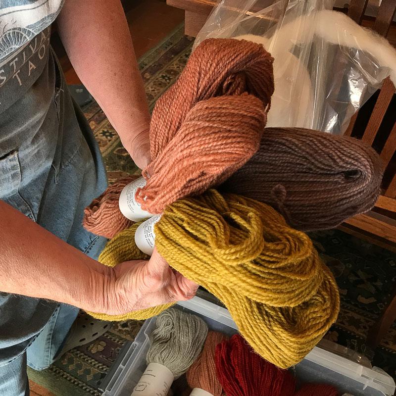 custom wool roving