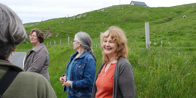 Shetland Handspun: Meet Elizabeth Johnston