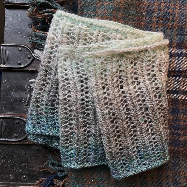 spinning gradient yarn