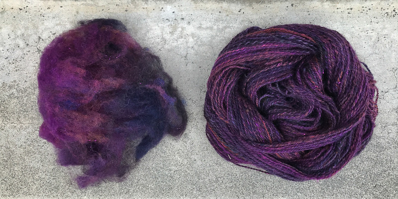 Roving Reporter: Carded Clouds Fiber Prep