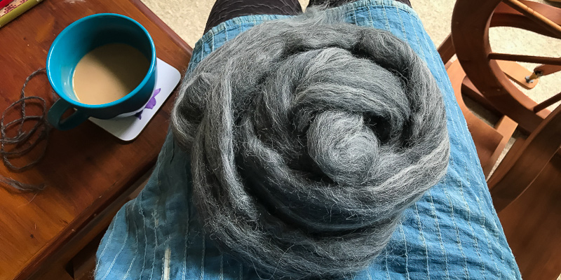 Roving Reporter: Knitting with Handspun for a Cozy Fall