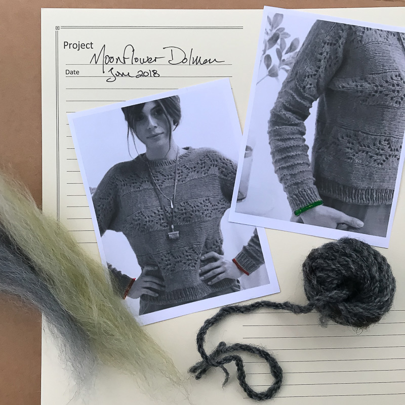 knitting with handspun