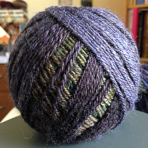 Chain-plied gradient. Photo: Kate Larson.