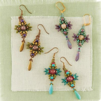 Berry Burst Earrings by Agnieszka Watts