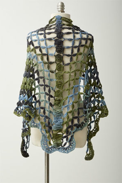 Lattice Lace Shawl