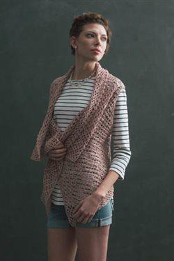 reversible crochet shrug