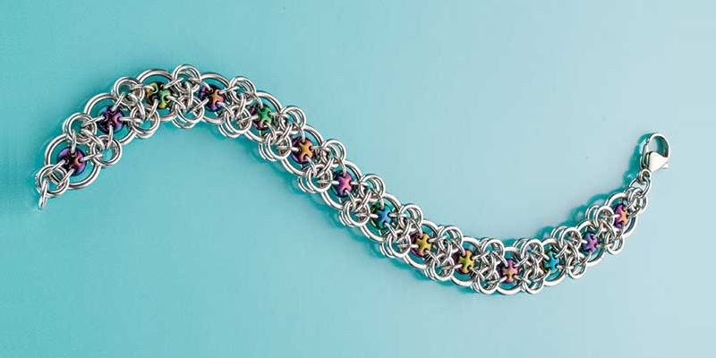 Chain Maille Jewelry Making: 5 Tips for Preserving Colored Rings, Fixing Floppy Weaves & More