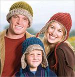 Warm Crocheted Hat