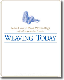 Learn how to make woven bags in this free eBook.
