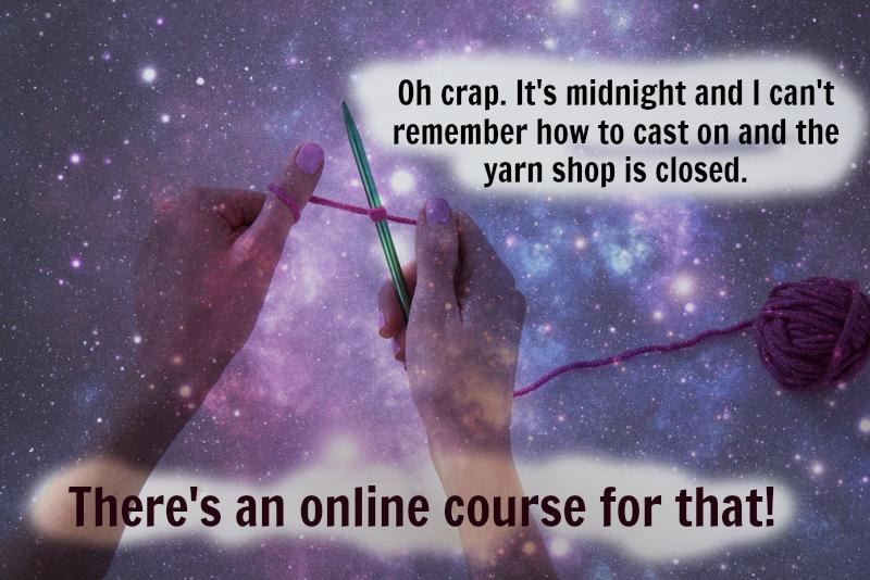 yarn shop owner