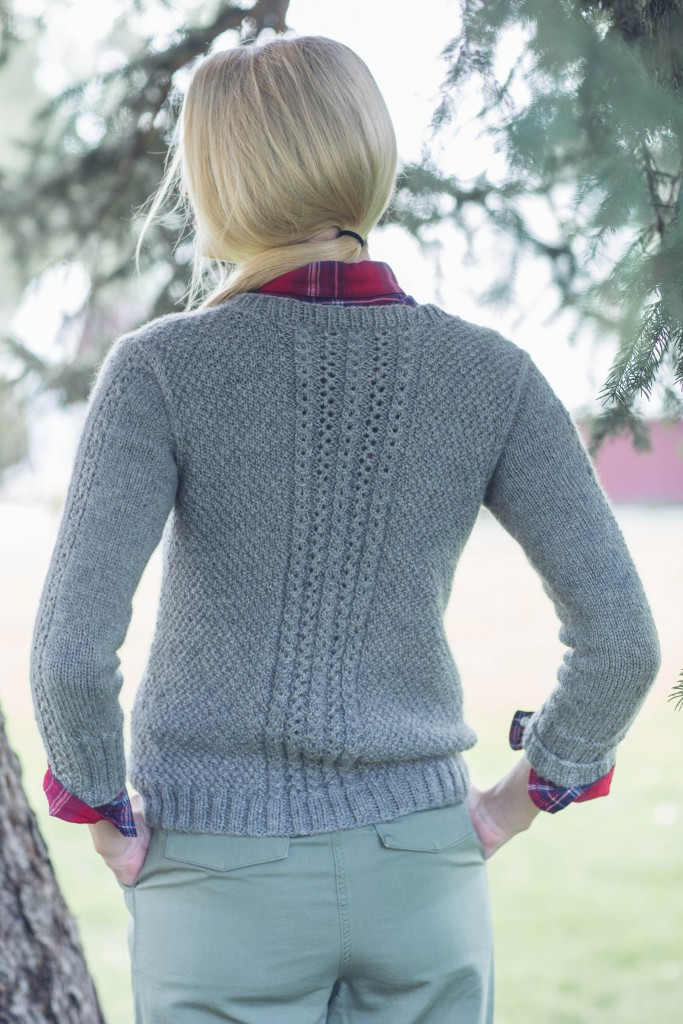 Quenna Lee MacGowan Pullover knit sweater pattern
