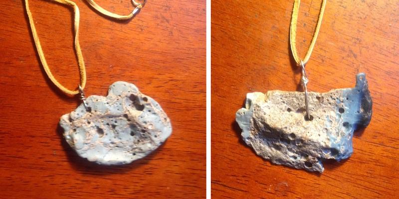jewelry supplies: Leland Blue pendants by Karla Rosenbusch