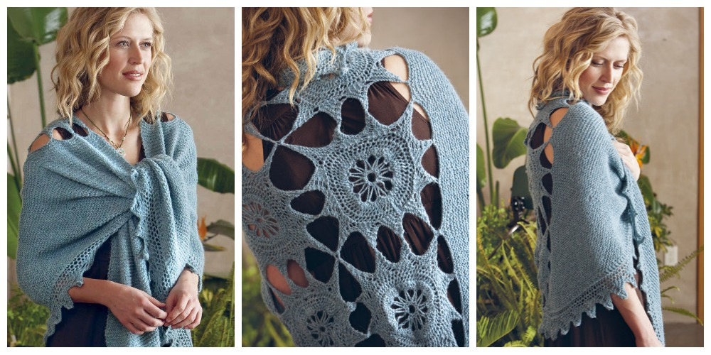 5 Knitted Shawl Patterns For People Who Dont Like To Wear Shawls