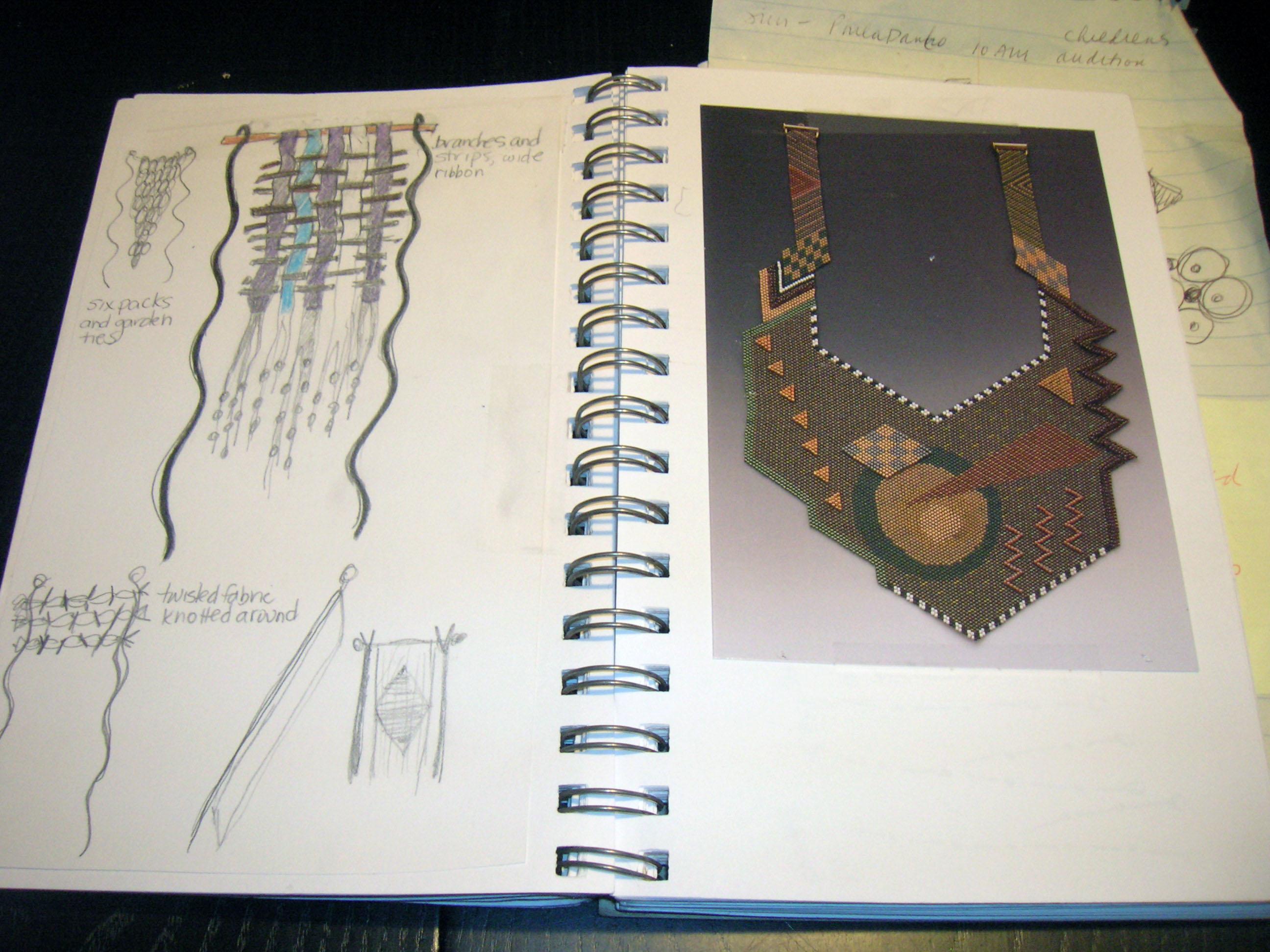 Leslie sketchbook