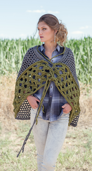 Less Traveled Shawl