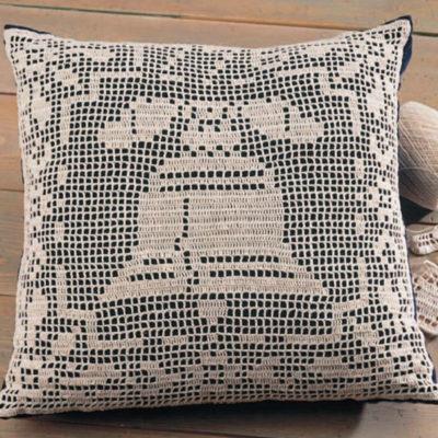 liberty bell pillow