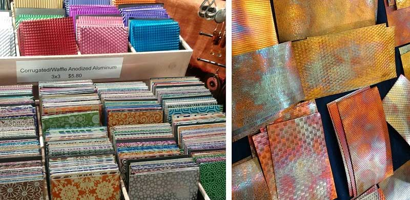 Tucson 2017 Wrap Up: New Jewelry-Making Supplies and Hot Jewelry Trends. Metal sheets by LillyPilly