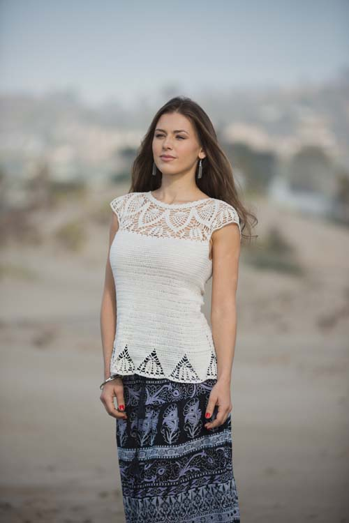 Limpet Lace Top Front