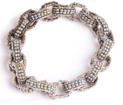 Linded Ladder Bracelet, by Dustin Wedekind, Getting Started with Seed Beads, by Dustin Wedekind