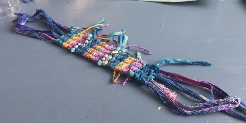 Mixed Weave Cuff