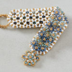 Loomed Illusion Bracelet by Susan Pelligra
