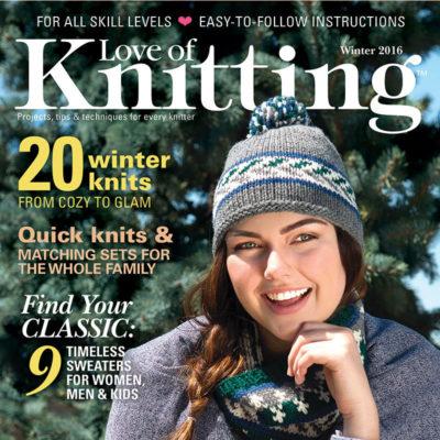 Love of Knitting Winter 2016