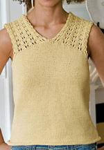 Lutea Lace Shoulder Shell