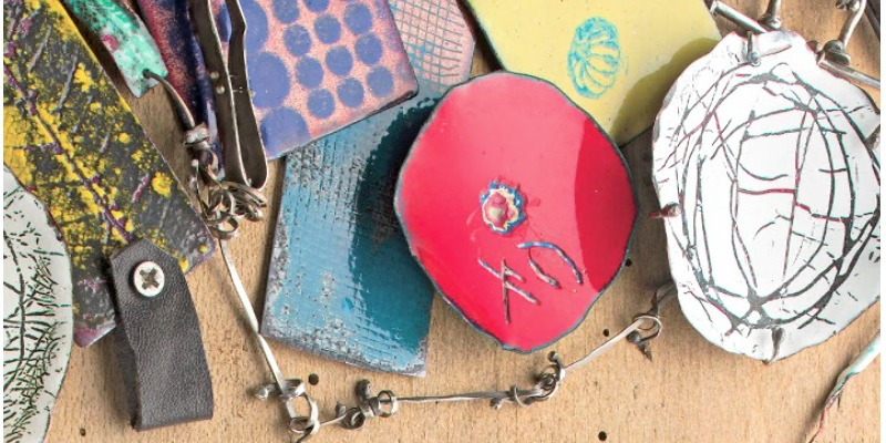 Create Unique Surface Effects and Further Explorations in Jewelry Enameling with Susan Lenart Kazmer