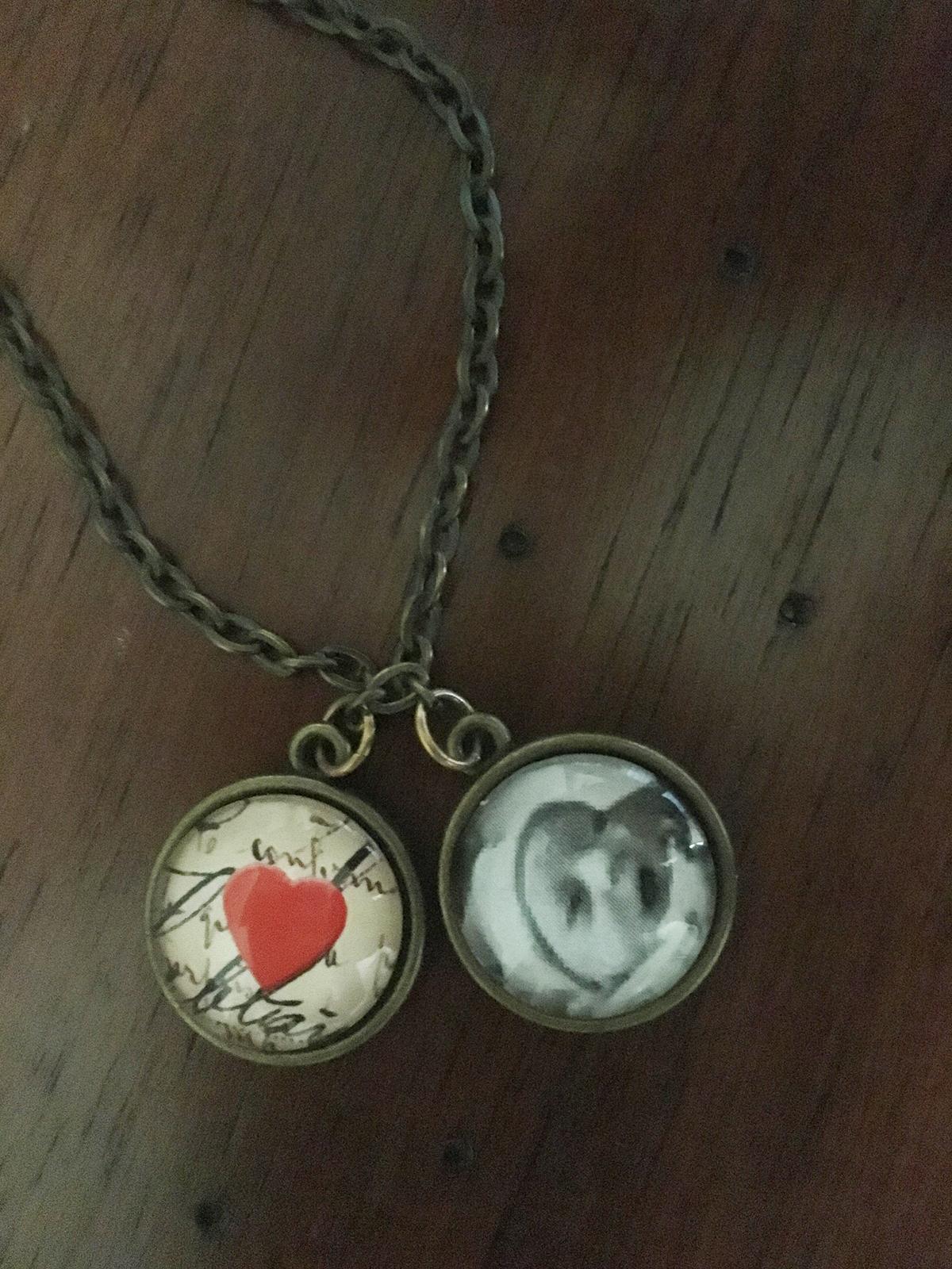 Mallory Leonard's cherished handmade necklace