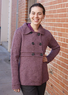 Knitting Gallery - Manchester Jacket Annie