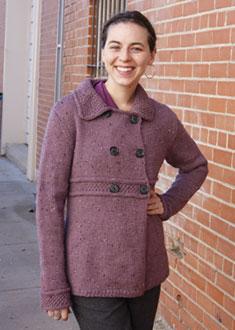 Knitting Gallery - Manchester Jacket Annie