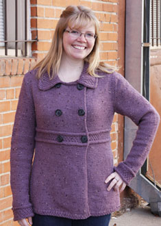 Knitting Gallery - Manchester Jacket Toni