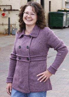Knitting Gallery - Manchester Jacket Debbie