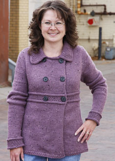 Knitting Gallery - Manchester Jacket Debbie