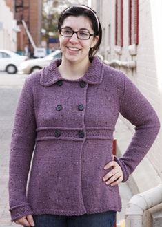 Knitting Gallery - Manchester Jacket Stefanie