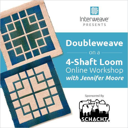 Doubleweave on a 4-Shaft Loom Online Workshop