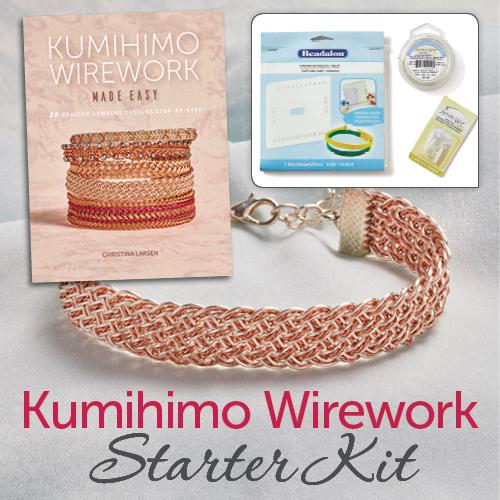 Kumihimo Wirework Starter Kit
